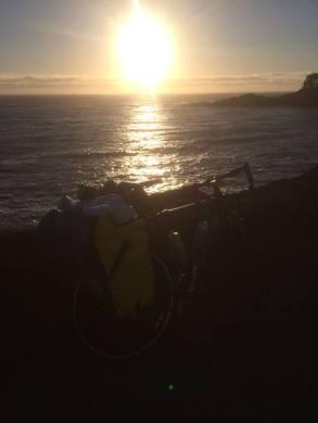 oregon caost sunset